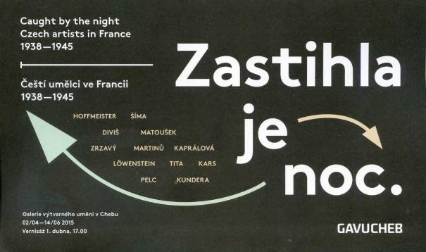 Zastihla je noc / Caught by the night