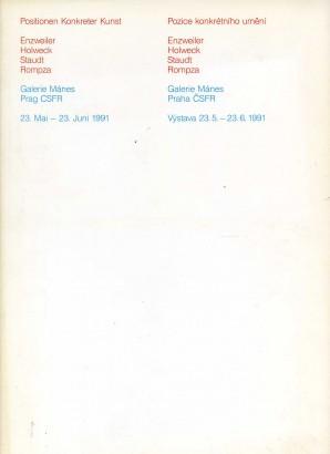 Positionen Konkreter Kunst / Pozice konkrétního umění