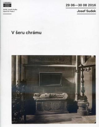 Josef Sudek: V šeru chrámu