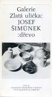 Josef Šimůnek: Dřevo
