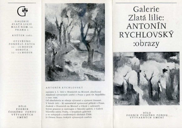Antonín Rychlovský: Obrazy
