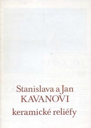 Stanislava a Jan Kavanovi: Keramické reliéfy