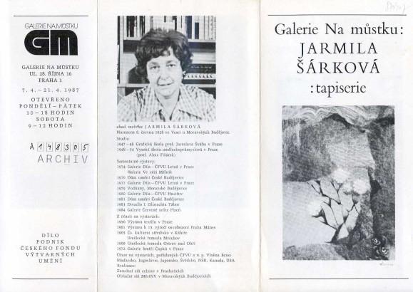 Jarmila Šárková: Tapiserie