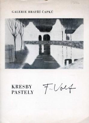 František Volf: Kresby, pastely