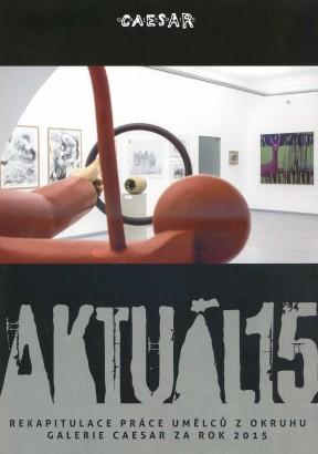 AKTUÁL 15: Rekapitulace práce umělců z okruhu Galerie Caesar za rok 2015