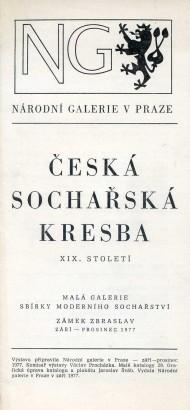 Česká sochařská kresba XIX. století
