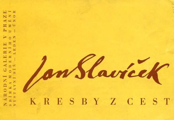 Jan Slavíček: Kresby z cest