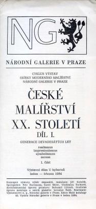 České malířství XX. století