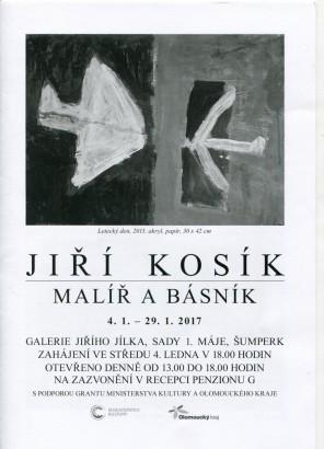 Jiří Kosík. Malíř a básník