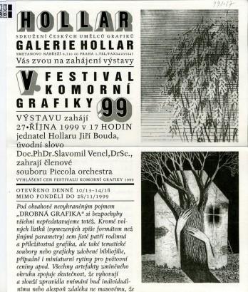 V. festival komorní grafiky