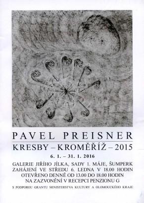 Pavel Preisner: Kresby - Kroměříž - 2015