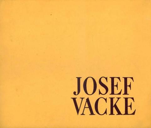 Josef Vacke: Obrazy 1928-1976