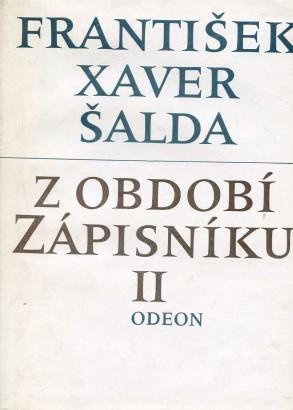 Šalda, František - Z období zápisníku