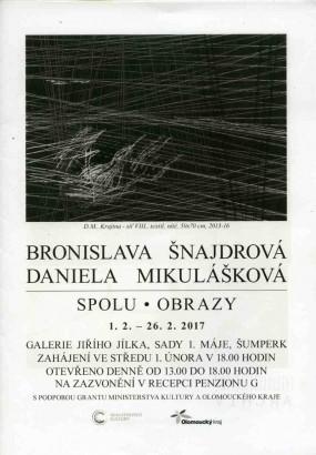 Bronislava Šnajdrová, Daniela Mikulášková: Spolu, Obrazy