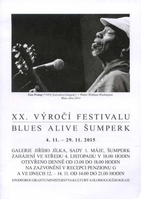 XX. výročí festivalu Blues Alive Šumperk