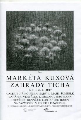 Markéta Kuxová: Zahrady ticha