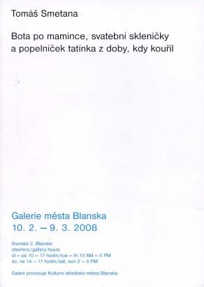 Tomáš Smetana: Bota po mamince, svatební skleničky a popelníček tatínka z doby, kdy kouřil