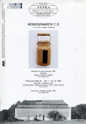 Monogramista T.D