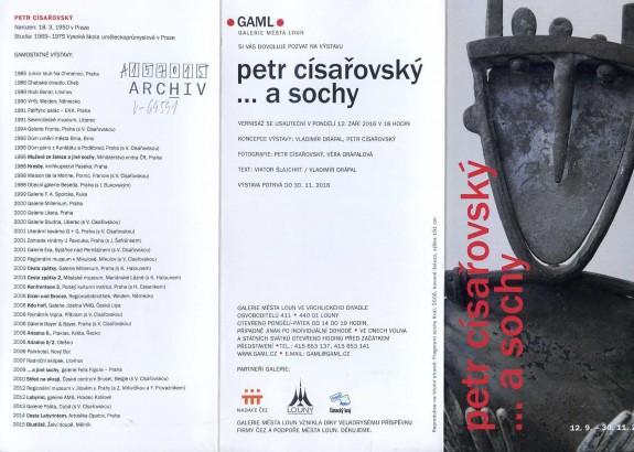 Petr Císařovský: ...a sochy