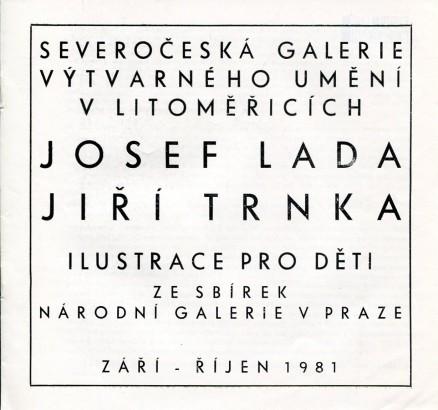 Josef Lada, Jiří Trnka: Ilustrace pro děti