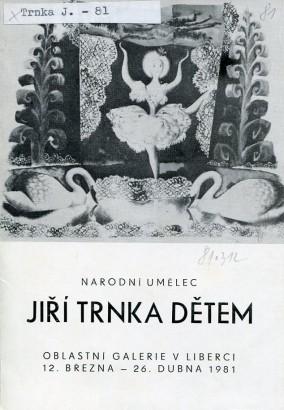 Národní umělec Jiří Trnka: Dětem