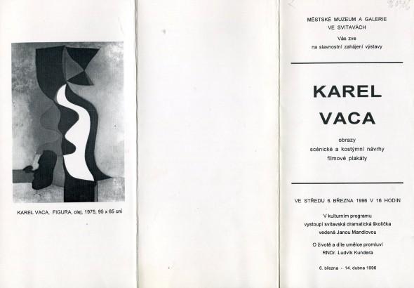 Karel Vaca: Obrazy scénické a kostýmní návrhy filmové plakáty