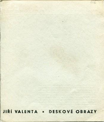 Jiří Valenta: Deskové obrazy