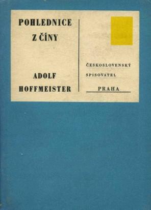 Hoffmeister, Adolf - Pohlednice z Číny