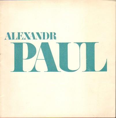 Alexadr Paul: Fotografie