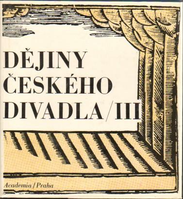 Dějiny českého divadla