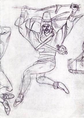 Antonín Strnadel: Zeichnungen / Soubor kreseb