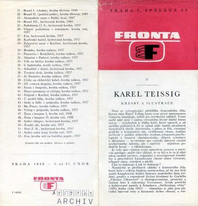 Karel Teissig: Kresby a ilustrace