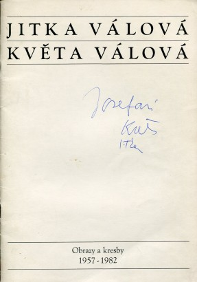 Jitka Válová, Květa Válová: Obrazy a kresby 1957-1982