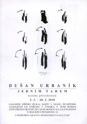 Dušan Urbaník: Jedním tahem