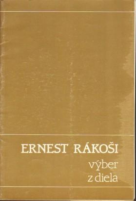 Ernest Rákoši: Výber z diela