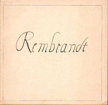 Rembrandt Harmensz van Rijn: Grafika
