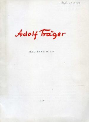 Adolf Träger: Malířské dílo