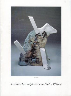 Keramische skulpturen von Jindra Viková