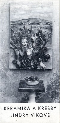 Keramika a kresby Jindry Vikové