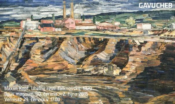 Maxim Kopf: Uhelný revír falknovský, 1929