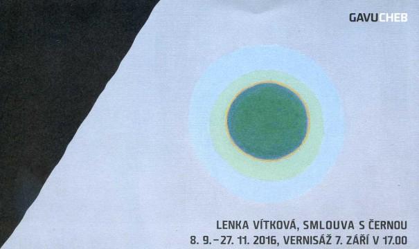Lenka Vítková: Smlouva s černou