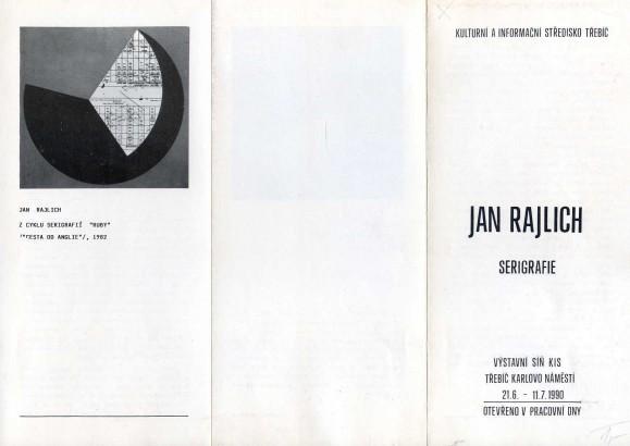 Jan Rajlich: Serigrafie