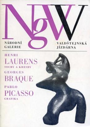 Henri Laurens: Sochy a kresby, Georges Braque, Pablo Picasso: Grafika