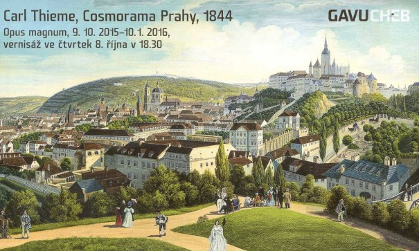 Carl Thieme, Cosmorama Prahy, 1844