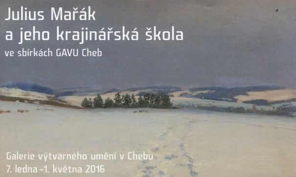 Julius Mařák a jeho krajinářská škola ve sbírkách GAVU Cheb