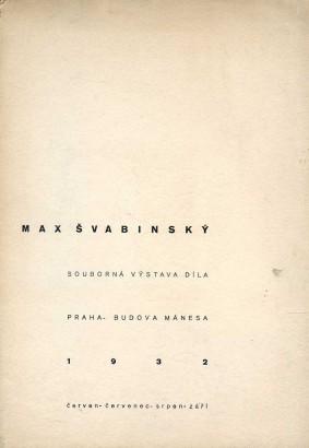 Max Švabinský: Souborná výstava díla