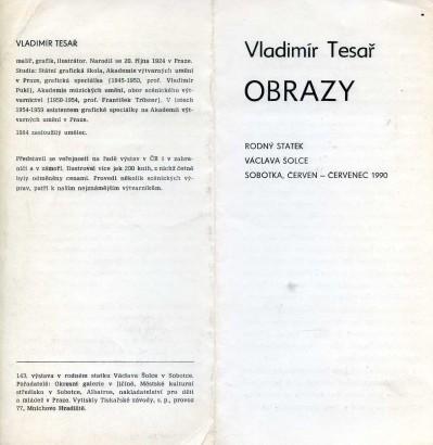 Vladimír Tesař: Obrazy