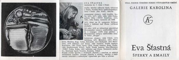 Eva Šťastná: Šperky a emaily
