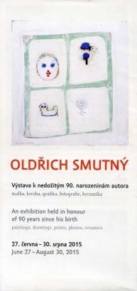 Oldřich Smutný: Výstava k nedožitým 90. narozeninám autora