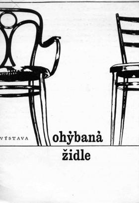 Ohýbaná židle